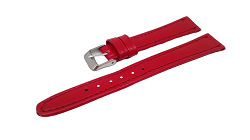 Bracelet montre rouge disponible en 12mm et 14mm