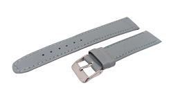 Bracelet montre rvchono disponible en 20 et 22mm noir couture jaune ou bleu
